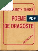 Rabindranath Tagore - Poeme de Dragoste (Premiul Nobel)