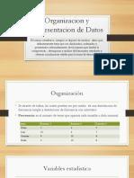 Organizacion y Representacion de Datos