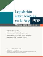 Legislación Sobre Lenguas en Argentina