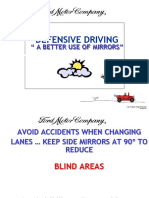 Mirror Use Defensive Driving.pps