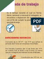Jornada de Trabajo en El Peru Horario de Trabajo Derecho Laboral DS 003 97 TR