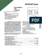 CD4543B Datasheet