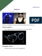 14 Cool and Creative Sunglasses