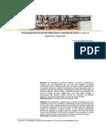 AVALIAÇÃO DE POLÍTICAS PÚBLICAS E A NOÇÃO DE ÊXITO O olhar de Figueiredoe Figueiredo.pdf