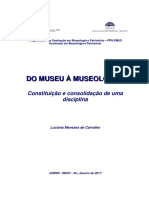 Carvalholuciana m Tese Do Museu a Museologia