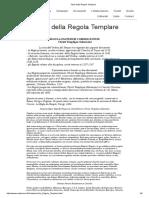 Regula Militum Templariorum