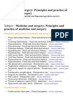 Medicine and Surgery- Principles and Practice of Medicine and Surgery - Lecture Notes, Study Materials and Important questions answers