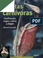 Lecoufle Marcel - Plantas Carnivoras