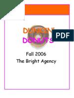 Dunkin Donuts Plan