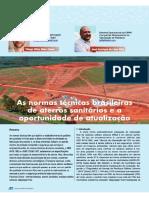 Zanon & Pilla - Normas Técnicas de Aterros e a Oportunidade de Atualização