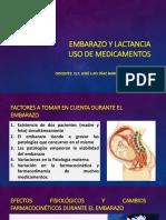 Clase 6 - Medicamentos en Embarazo y Lactancia
