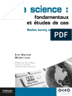 Data Science Fondamentaux Et Tudes de Cas Machine Learning Avec Python Et R