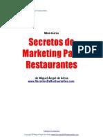 Secretos de Marketing Para Restaurantes