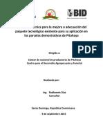 Manual Cultivo de La Pitahaya