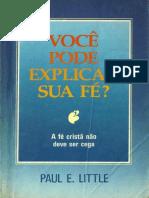 Vc pode explicar sua fé - Paul E. Little.pdf