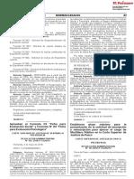 Aprueban el Formato 01 Ficha para Evaluación Social y Formato N° 02 Ficha para Evaluación Psicológica
