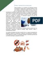 Esteatosis y Hepatitis Alcohólicas