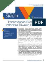 Pertumbuhan Ekonomi Indonesia  T III-2017