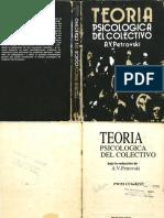 Teoria Psicologica Del Colectivo a.v. Petrovski