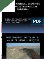 deslizamiento geologico