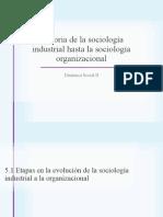 Historia de la sociología industrial hasta la sociología
