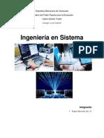 Ingeniería en Sistema