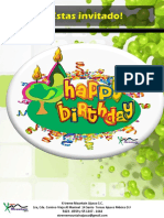 Initacion de Cumpleaños