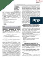 Aprueban el Reglamento del Proceso del Presupuesto Participativo de la Municipalidad Distrital San Antonio - Cañete correspondiente al Periodo Fiscal 2019