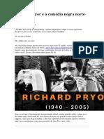 Richard Pryor e a Comédia Negra