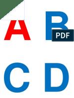 Alfabeto Debaixo Do Quadro