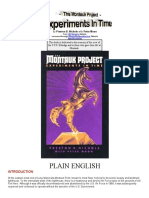 Montauk Project by Preston B. Nichols