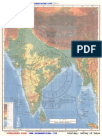Maps for Upsc Exams India Physical
