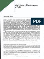 ZEILER - Diplomatic History Bandwagon.pdf