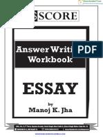 Essay Practice Workbook 2017 - GS Score