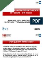 Instrucción Conjunta Igac - Snr Natalia h.- Jorge g.