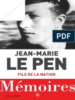 [ Torrent9 Red ] Memoires Fils de La Nation Jean-Marie Le Pen