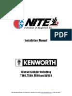 KenworthT600-T660-T800-W900
