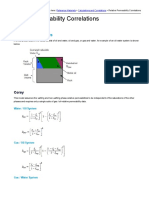 Relative Permeability Correlations Fekete