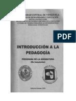 Pedagogia y Educacion Proceso Socio Historico