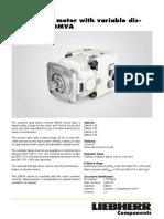 Liebherr Technical Data Dmva Single Motor