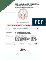 Sistema Indirecto Convencional Final Actualizado