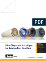VEL2164 CAT Filter Separator for Aviation Fuel Handling