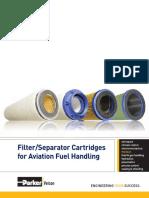 VEL2164 CAT Filter Separator for Aviation Fuel Handling
