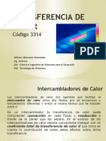 Tema 11, Intercambiadores de Calor