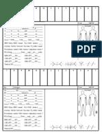 Medsurg Report Sheet