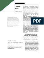 Tobar (2000) Herramientas para el análisis del Sector Salud
