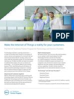 Dell IoT Program Brochure