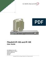 Ceragon FibeAir IP-10G IP-10E User Guide 20120601 Rev a.01