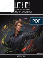 Unofficial FFXV Community Cookbook v3.0