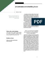 Tobar (2013) Políticas de Salud Centradas en La Familia y La Comunidad